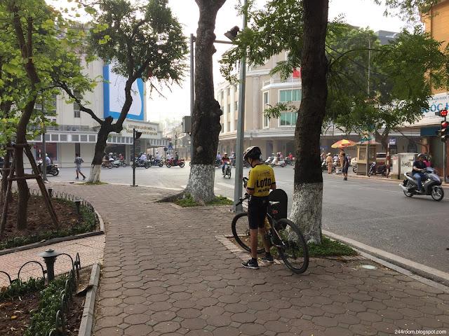 ベトナムのサイクリング風景 Vietnam-cycling2