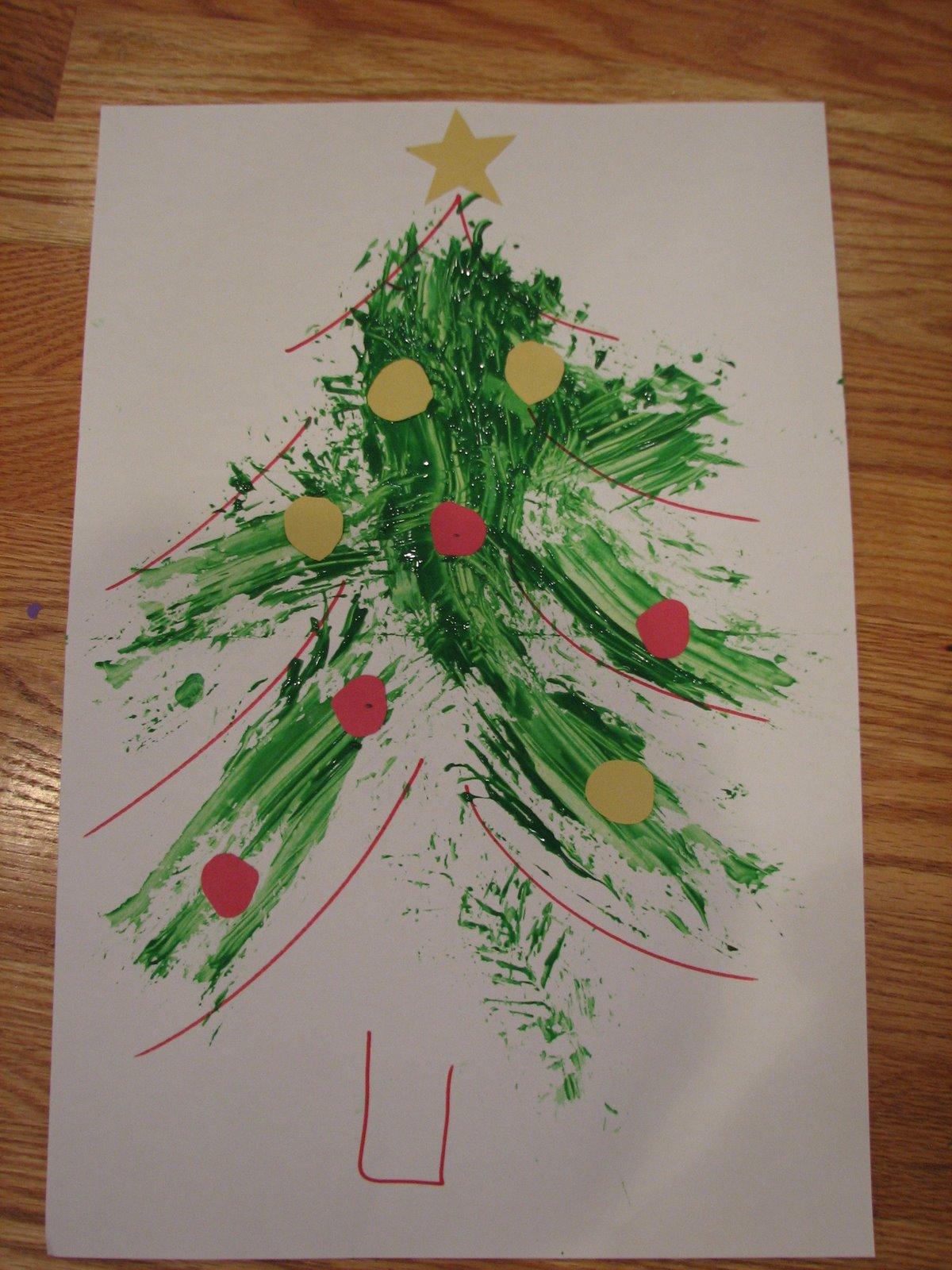 Budgetadvice And Everything Nice Christmas Crafts Super Easy Inexpensive To Do