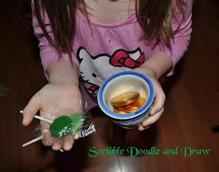 Leprechaun tricks for St. patrick's day reward kids with a pot of gold