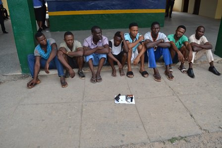cultists arrested fight over girlfriend