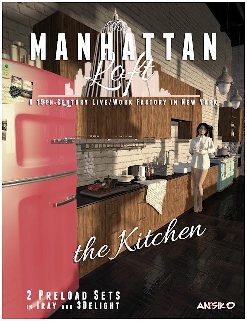 Manhattan Loft: Kitchen Expansion