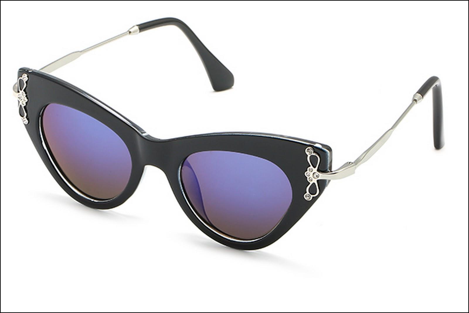 винтажные очки кошачий взгляд