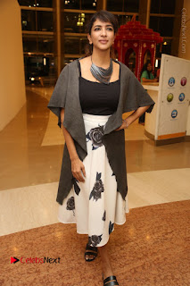 Actress Lakshmi Manchu Pos at Asian Para Badminton Championship Winners Felicitation Ceremony  0088.JPG