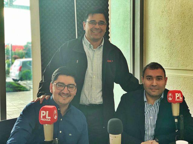 Daniel, Hector y Manuel