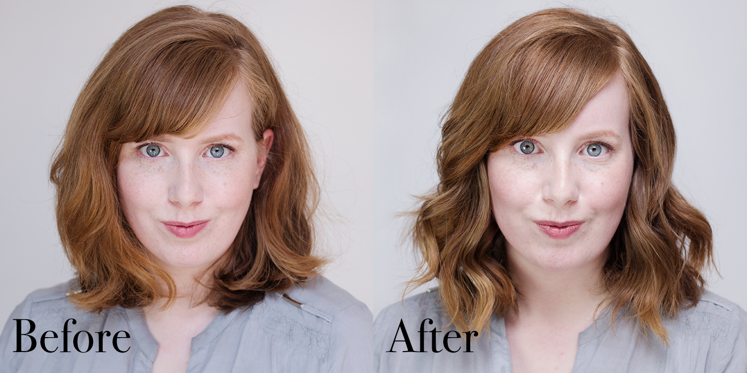 Irresistible Me Diamond Hair Styler Review Before After