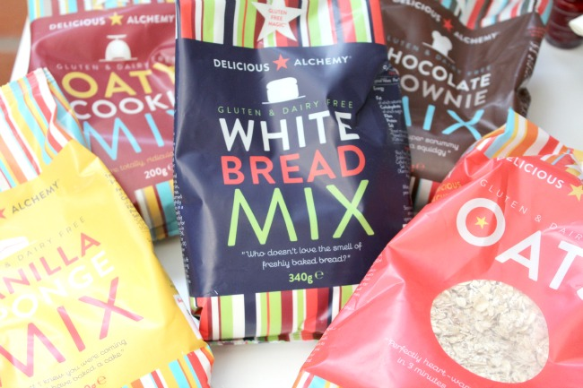 Baking and cooking ith gluten free ready packs from Delicious Alchemy - Nourish ME www.nourishmeblog.co.uk