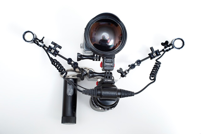 GoPro HERO6 でRGBlue System03を使った最小ビデオ撮影システム構築