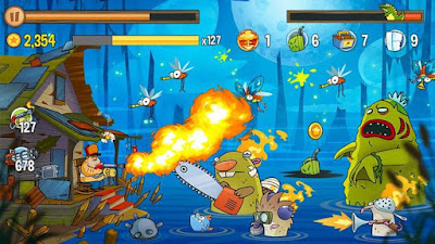 Swamp Attack MOD APK (Unlimited Money/Energy) v2.4.0 Offline