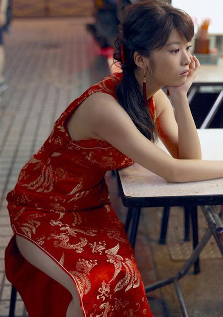 Hot girls Fumika Baba sexy actress in japan superman movie 9
