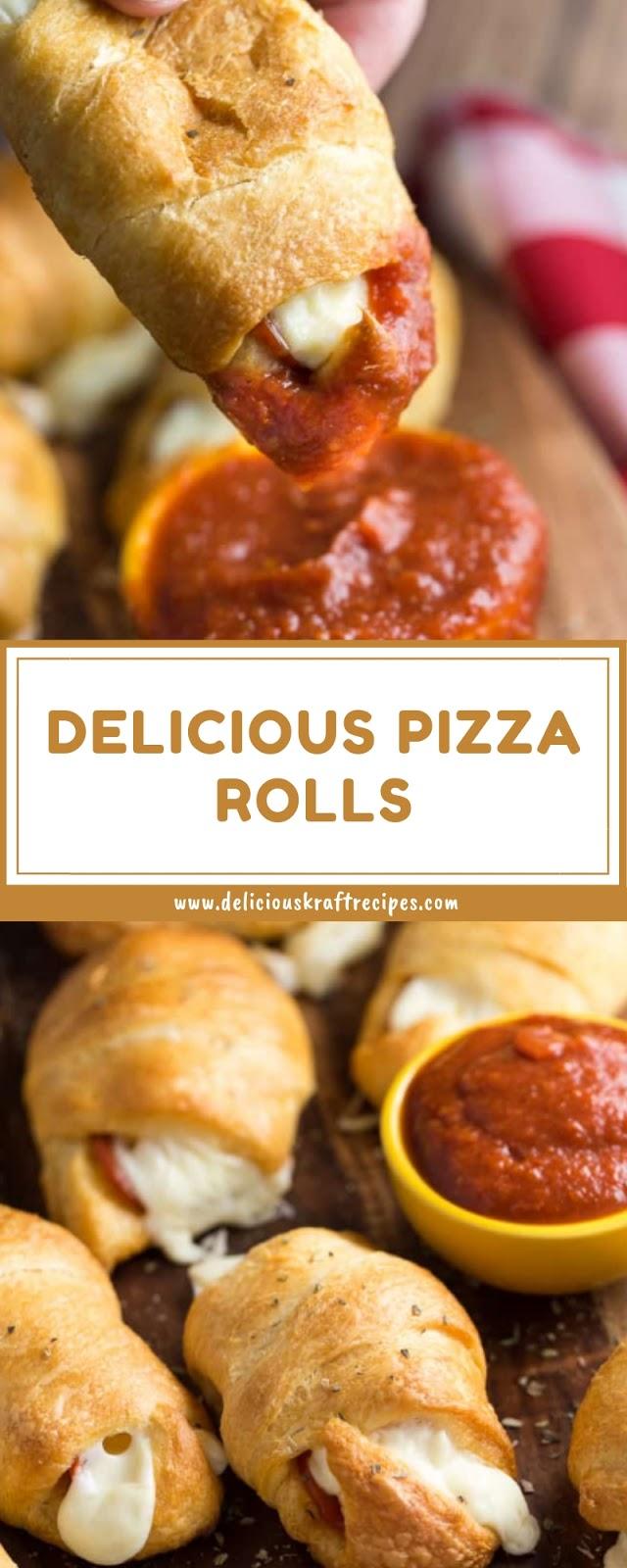 DELICIOUS PIZZA ROLLS
