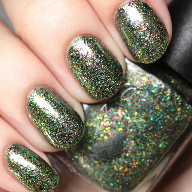 Grace-full Nail Polish Grown Up Christmas Tree