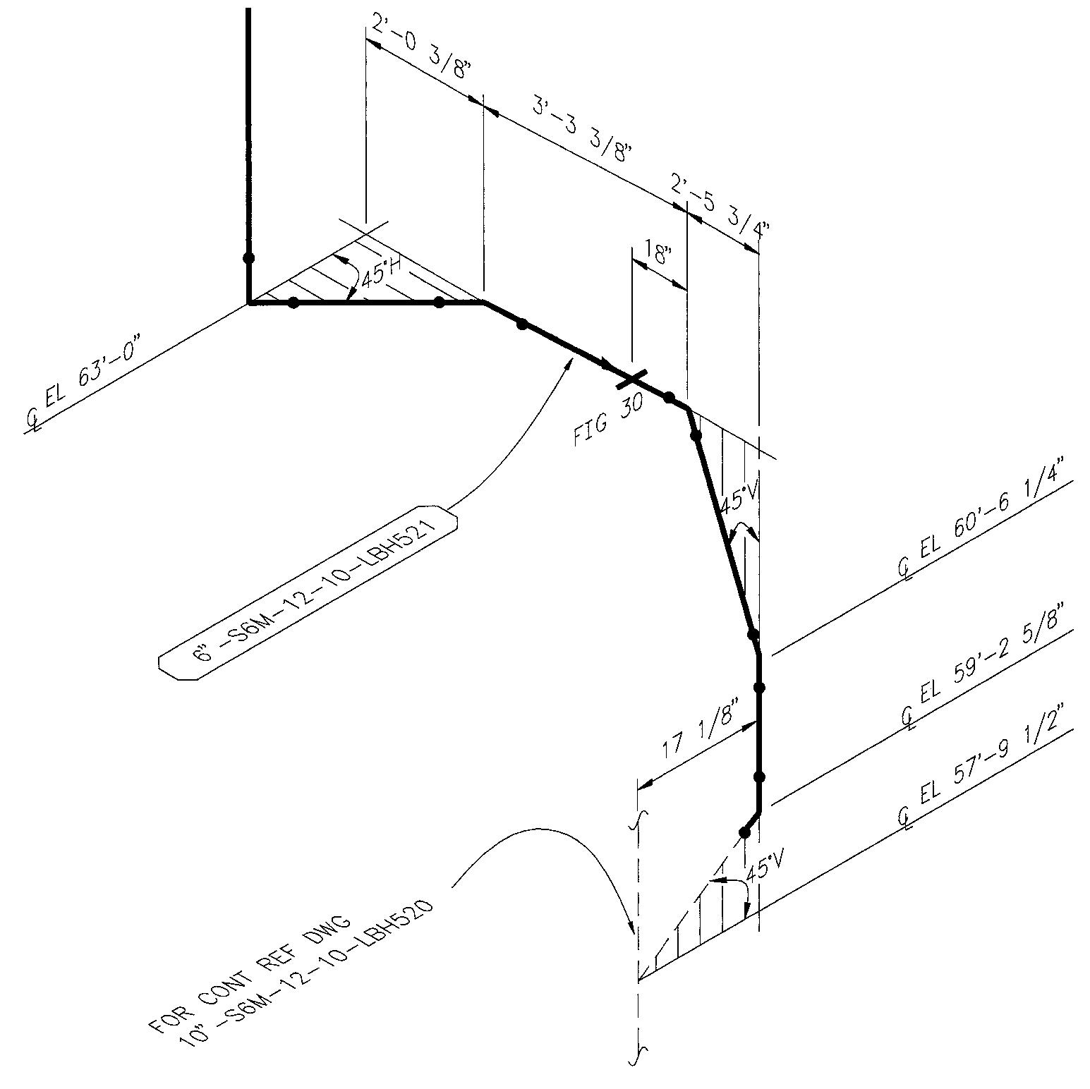 piping drawing and symbols