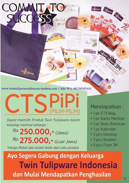 CTS PiPi Starter Kit Member Tulipware September 2017