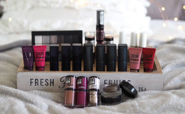 A picture of new Maybelline makeup