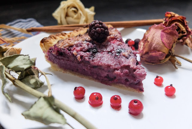 Tarte fruits rouges frangipane vegan recette