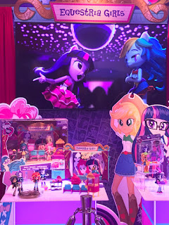 MLP Equestria Girls during New York Toy Fair 2017