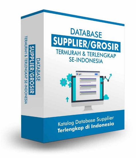 Database Supplier Termurah dan Terlengkap di Indonesia