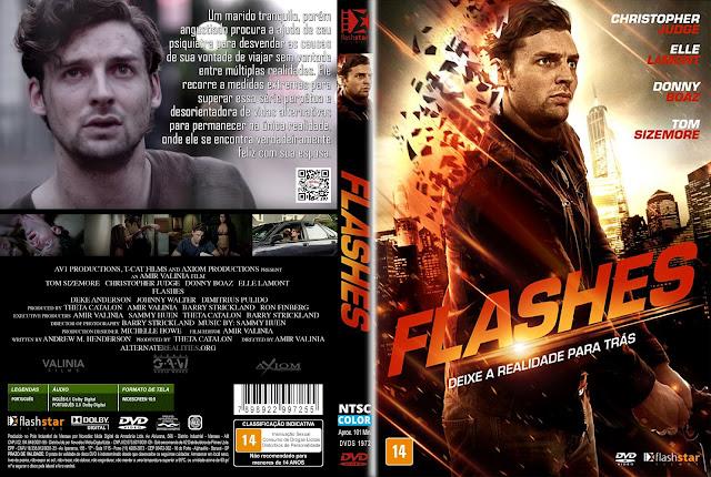 Capa DVD Flashes [Exclusiva]