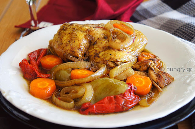 Chicken and Vegetables in Slow Cooker