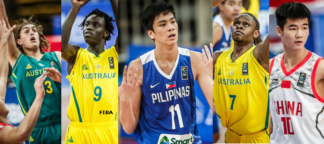 FIBA U16 Asian Championship Mythical Teams