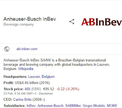Hurry and Apply For Anheuser-Busch InBev Global Management Trainee recruitment 2018/2019