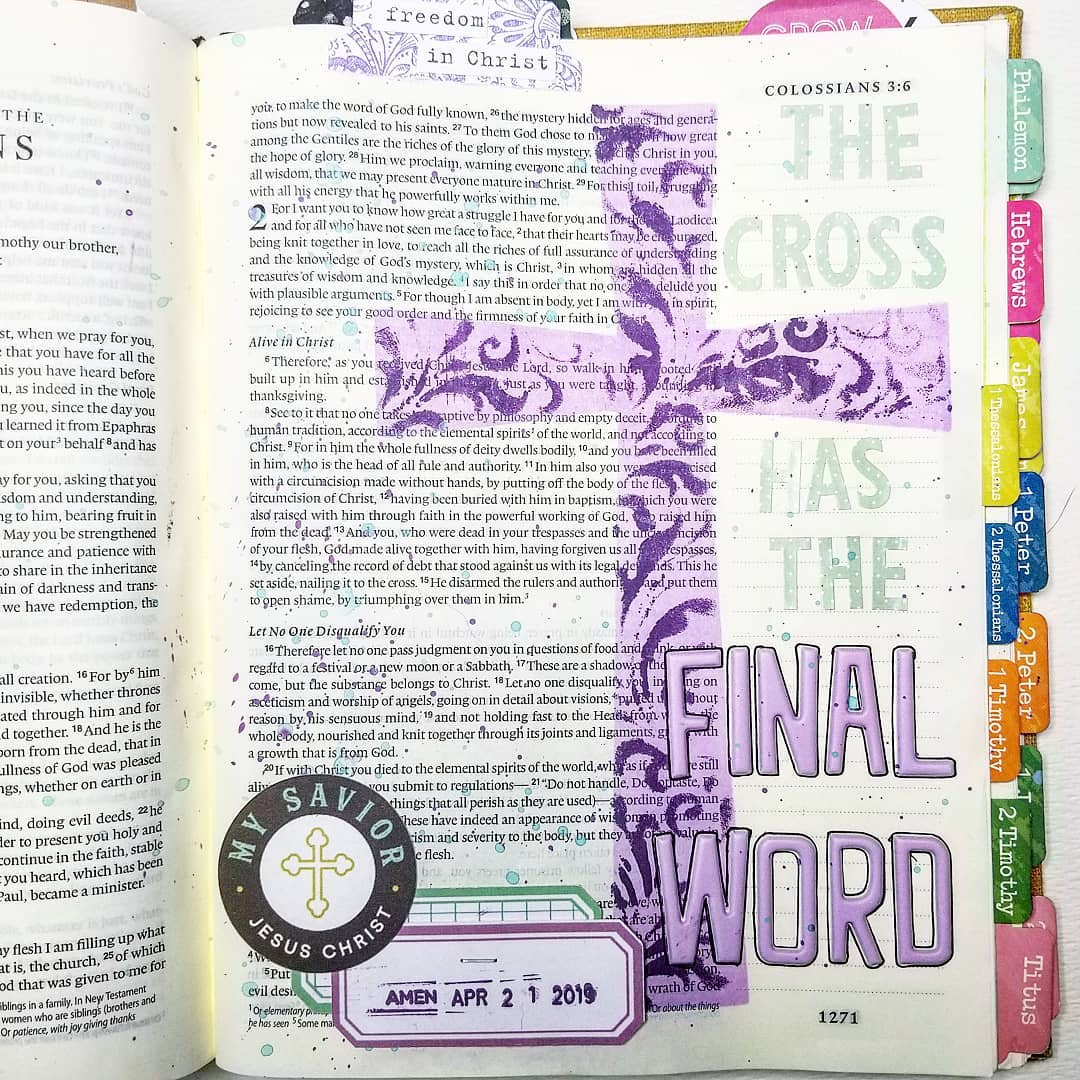 Anchored Hope Bible Journaling: How to Choose a Verse for