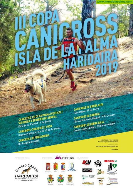Este sábado comienza la III Copa Canicross Haridaira Isla de La Palma