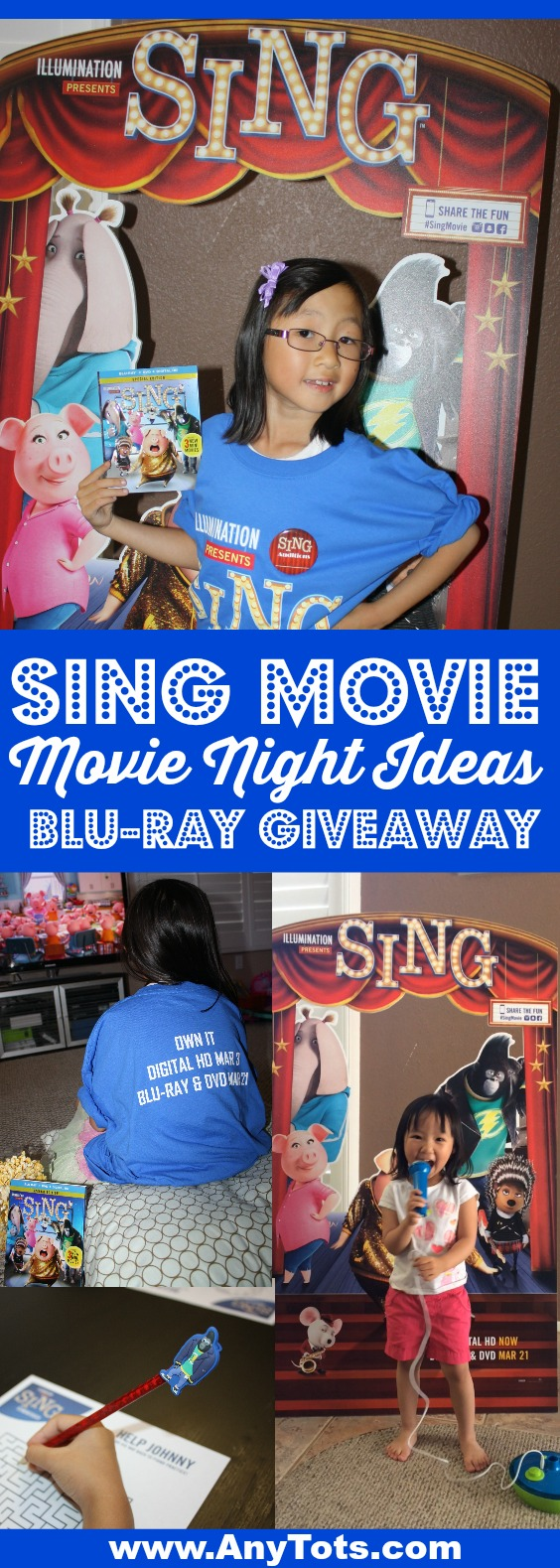 sing movie night ideas