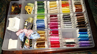 Embroidery Floss in Storage Case