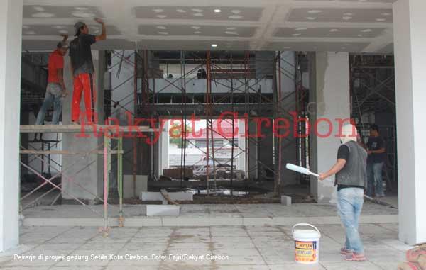 walikota cirebon minta pembangunan gedung setda cepat selesai
