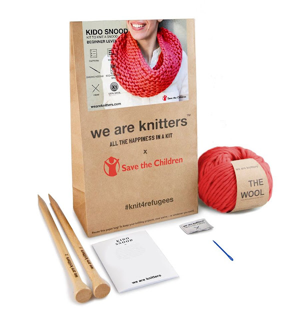 #KiddoSnood #Snoodsolidario #Weareknitters #SavetheChildren #Knit4Refugees