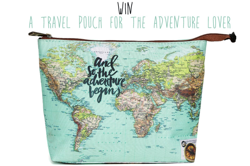 Win a Beautiful Travel Pouch