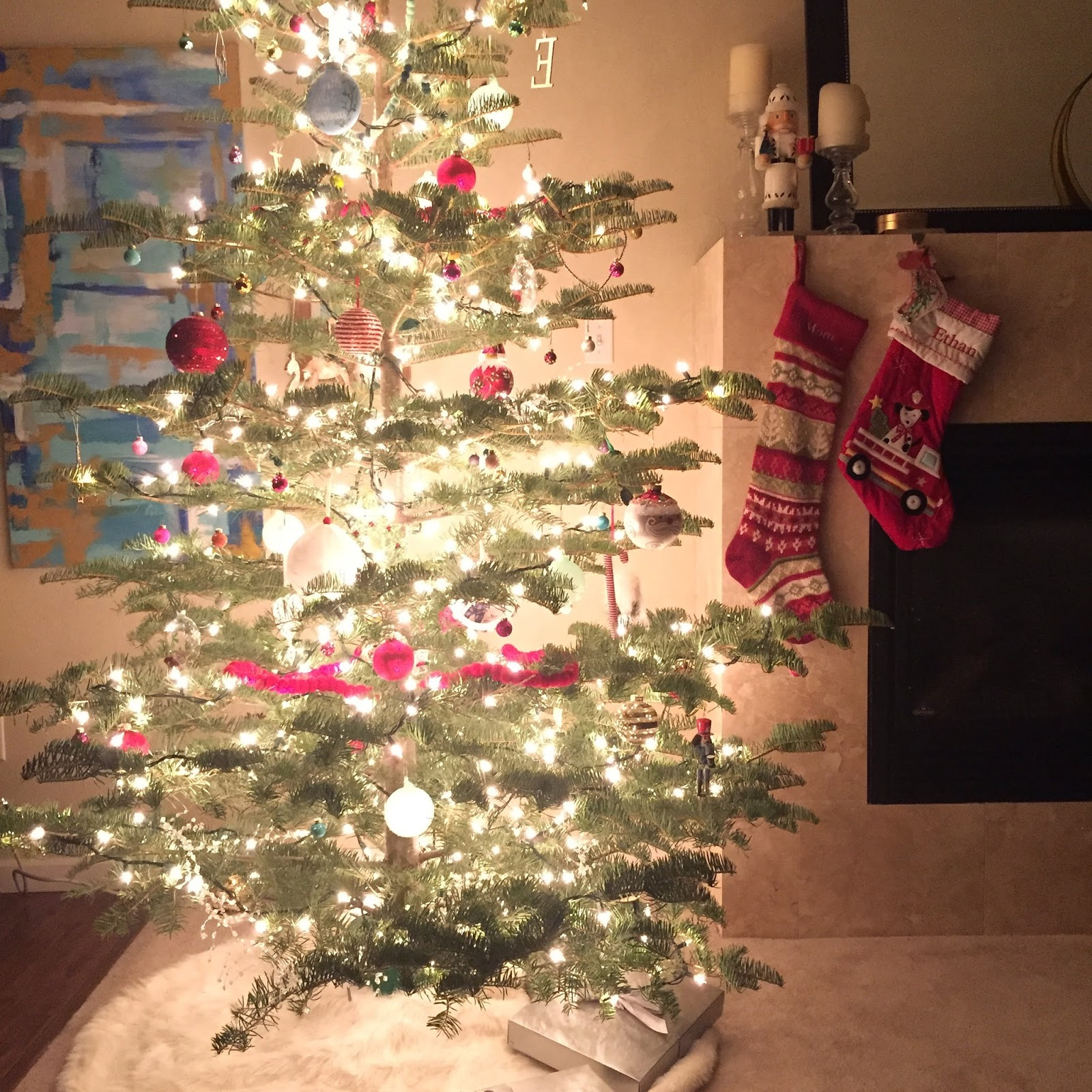 Pottery barn tree skirts - Great We Got The Tree Skirt From Target Stockings Are From Pottery Barn Kids With Pottery Barn Tree Skirt