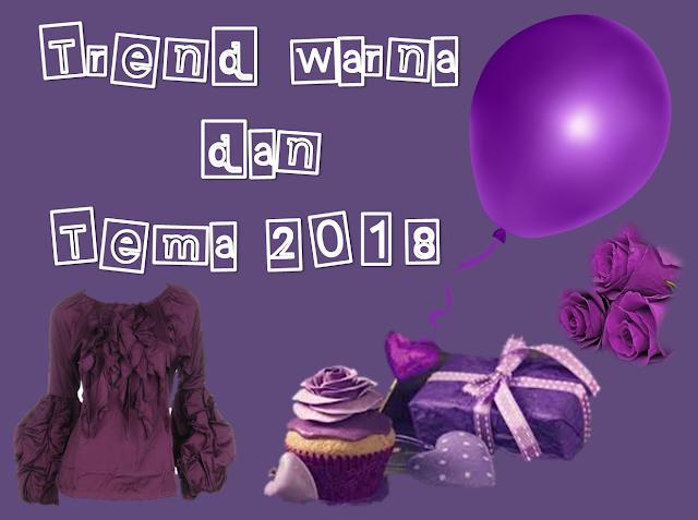 trend dan warna tema 2018