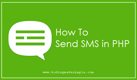sms gateway integration in php