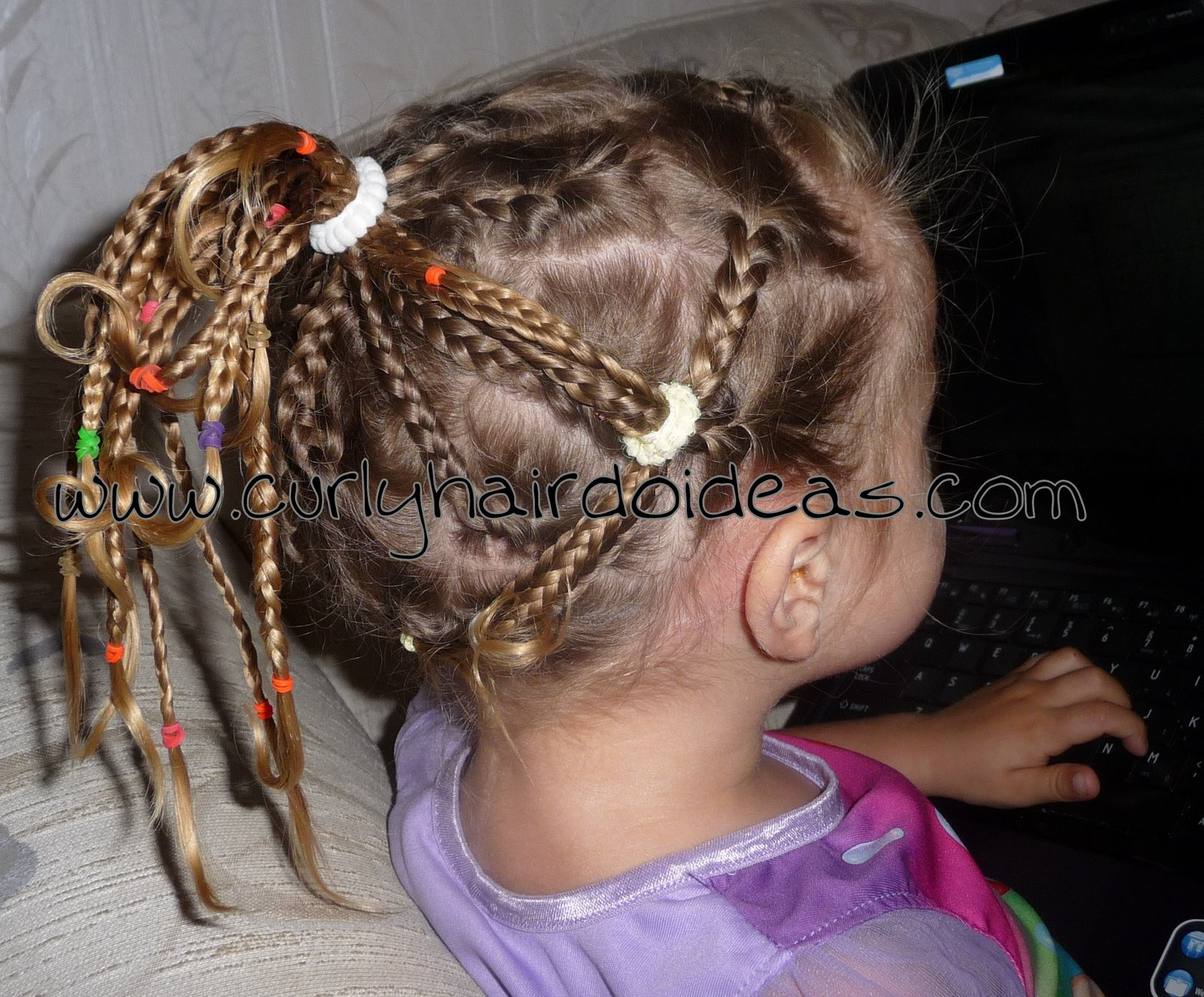 curly hairdo ideas: hair carnival! cute toddler hairstyles