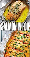 HOW TO MAKE SALMON IN FOIL