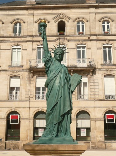 statue of liberty france