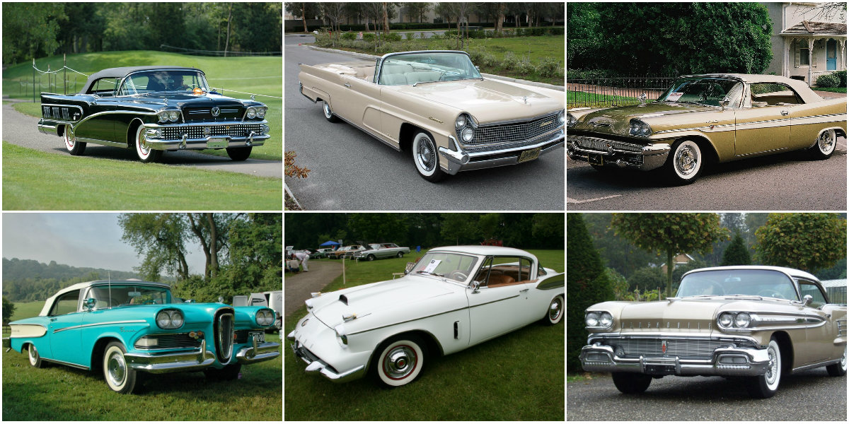 Here S A List Of 10 Ugliest Cars From The 1950s Vintage Everyday