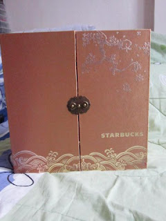 Starbucks coffee Chinese Spring Festival mooncake tumbler presentation gift pack box set lot