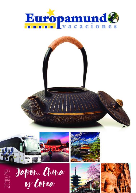 Catálogo Europamundo Circuitos Japón 2018-19