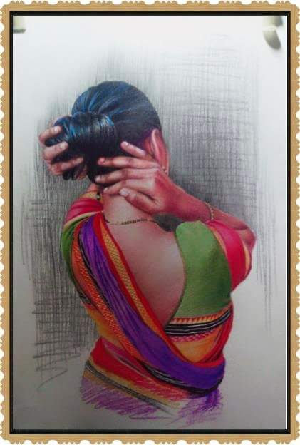 Color Pencil Portraits - How to Shade the Skin...