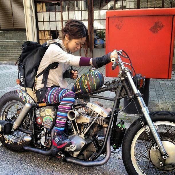 Mercenary Garage Chopper Girl Japan