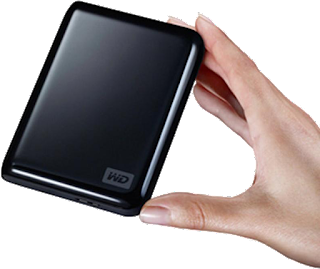 W-D USB back-up drive
