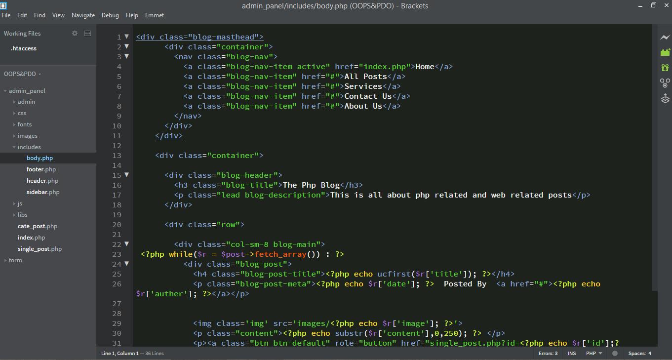 Best Text Editors For Web Development | webtipstricks