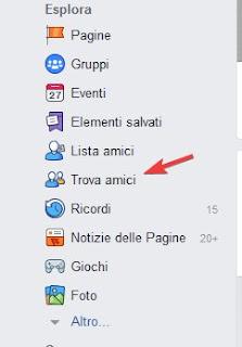 Sito Facebook