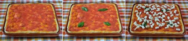Pizza cotta su Terracotta