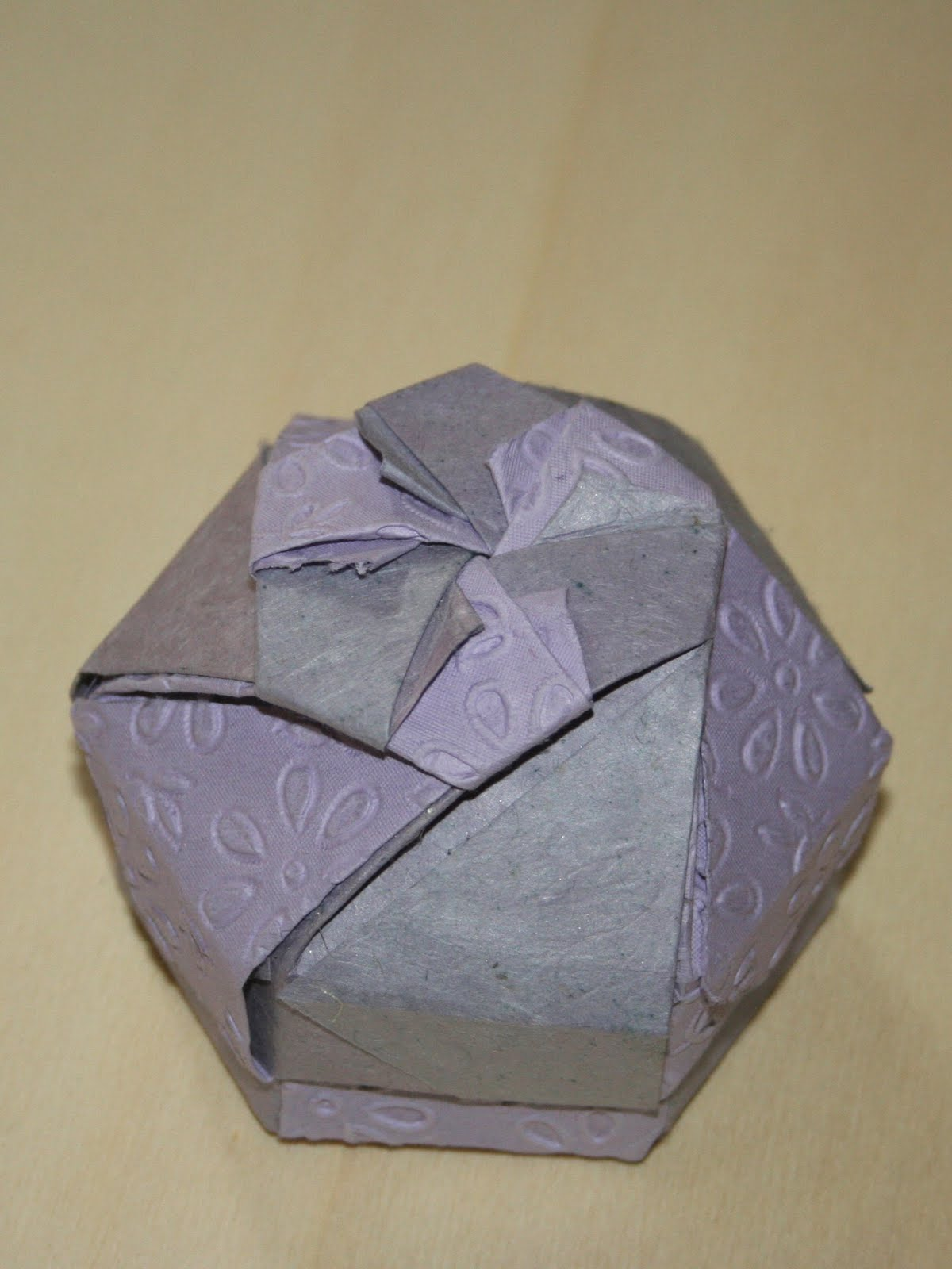 folding origami box diagram 2001 mitsubishi mirage radio wiring constructions heptagonal 43