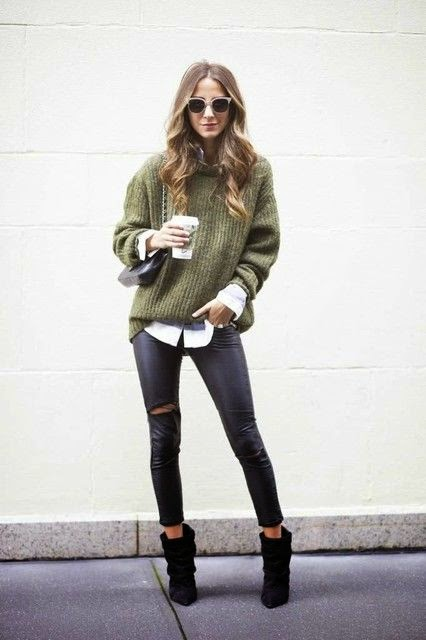 Amazing Winter Street Styles Combos