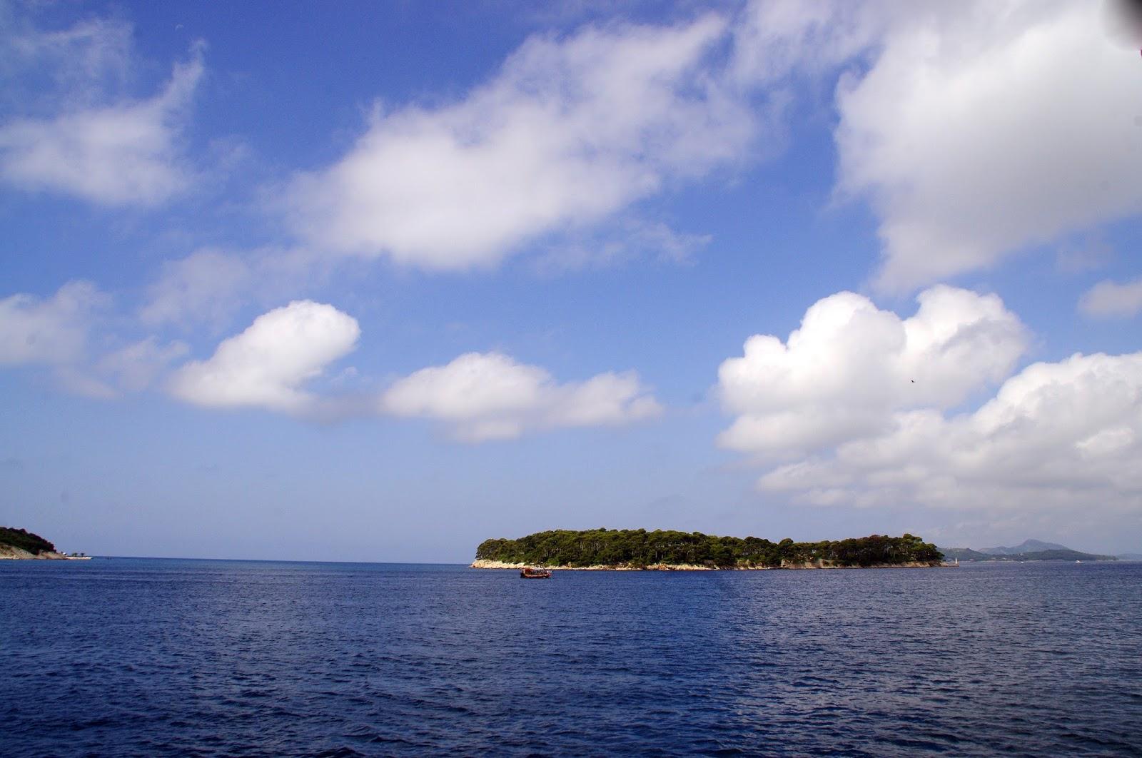 Ferry to Lopud Island Croatia
